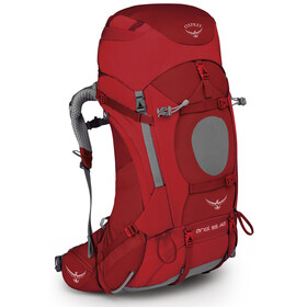 Osprey Ariel AG 55 Backpack Women Picante Red